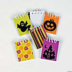 Mini Iconic Halloween Spiral Notepads