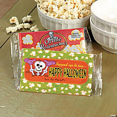 Halloween Microwave Popcorn Labels