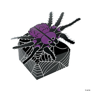 3D Halloween Gift Boxes - Spiderweb