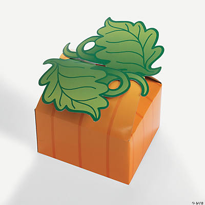 3D Halloween Gift Boxes - Pumpkin