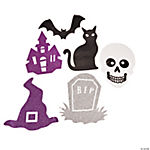 Iconic Halloween Glitter Cutouts
