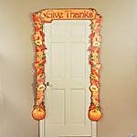 Fall Leaves Door Border