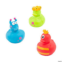 Vinyl Monster Rubber Duckies