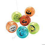 "12 ""Boo Bunch"" Mini Yo-Yos"
