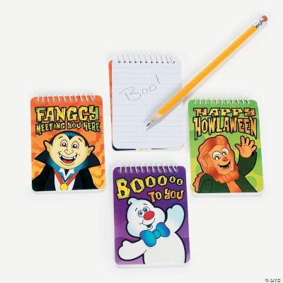 Halloween Character Spiral Notepads