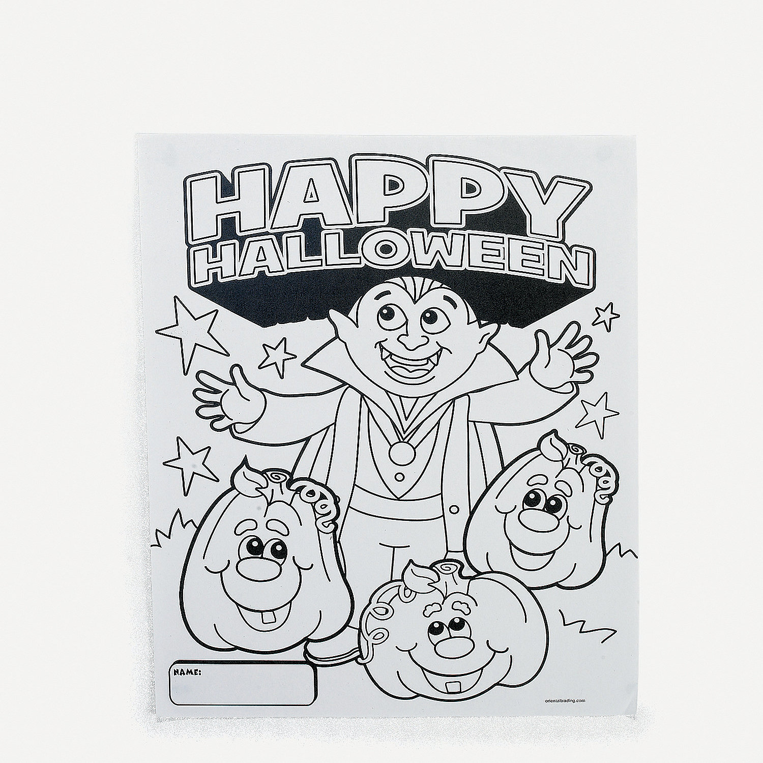 Halloween Coloring Contest Sheets