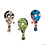 Wooden Eyeball Catch Paddleball Games