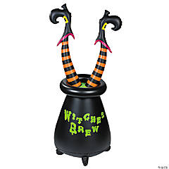 Inflatable Witches Cauldron