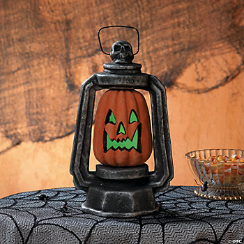 LED Carved Pumpkin Lantern