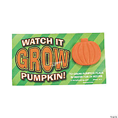 "Foam ""Watch It Grow"" Pumpkins"