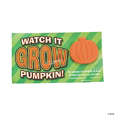 Watch It Grow Pumpkins