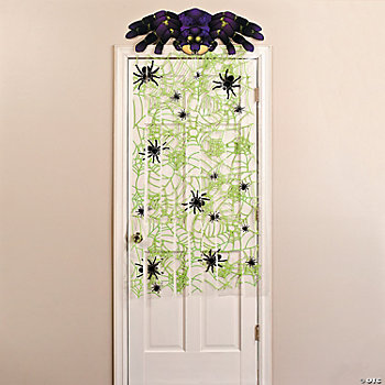 Spiders & Web Door Curtain