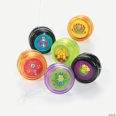 Mini Monster Yo-Yos