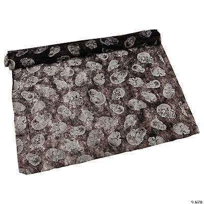Black Non-Woven Skull Cloth