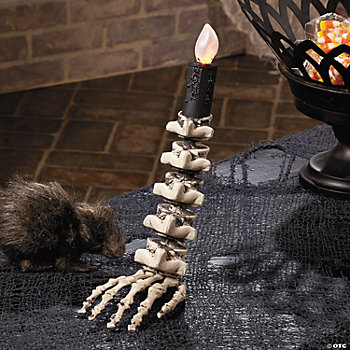Skeleton Hand LED Taper