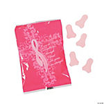 Inspirational Pink Ribbon Candy