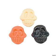 Skull-Shaped Bouncing Balls