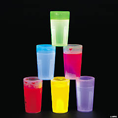 Glow Sticks Shot Glasses