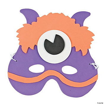Child's Monster Half-Masks