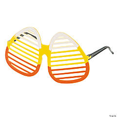 Candy Corn Shutter Shading Glasses