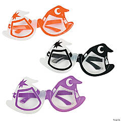 Glow-in-the-Dark Witch Hat Glasses