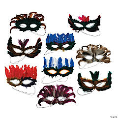 Feather Mask Assortment
