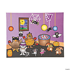 Masquerade Ball Make-A-Sticker Scenes