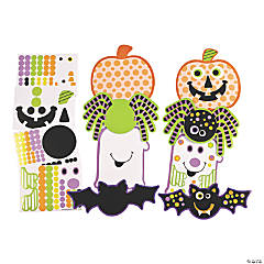 Halloween Die Cuts with Stickers