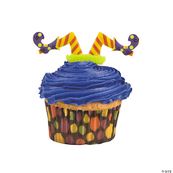 Witches' Legs Cupcake Picks