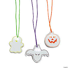 Halloween Flashing Safety Necklaces