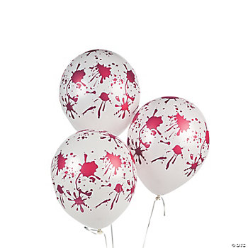Latex Blood Spattered Balloons