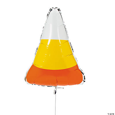 Candy Corn Mylar Balloon