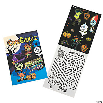 Cool Ghoulz Haunted Maze Activity Books
