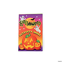 Halloween Fold-Up Activity Books