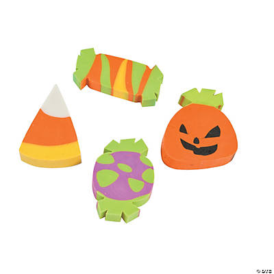 Trick-or-Treat Erasers