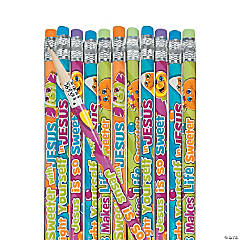 Inspirational Trick or Treat Pencils