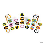 Halloween Rolls of Stickers Assortment