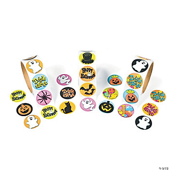 Halloween Roll Stickers