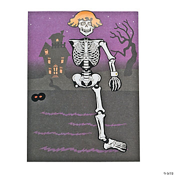 Make-A-Skeleton Sticker Scenes