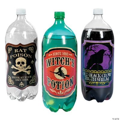 Witches Brew 2-Liter Drink Bottle Labels
