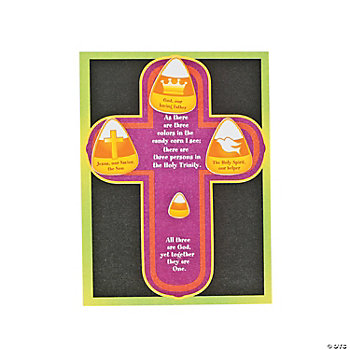 Trinity Candy Corn Make-A-Sticker Scene
