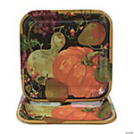 Fall Harvest Square Dinner Plates