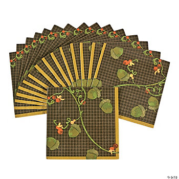 Fall Harvest Beverage Napkins