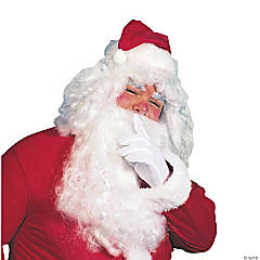 Adult's Santa Full-Size Wig