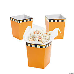 Mini Halloween Silhouette Popcorn Boxes