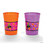 Candy Corn Spider Tumblers