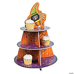 Candy Corn Spider Cupcake Holder