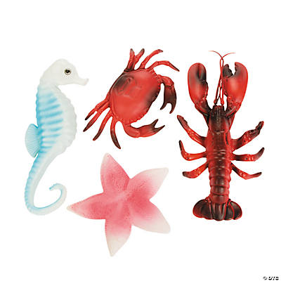 Ocean Sea Life Decoration Assortment