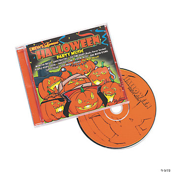 "Drew's Famous® ""Halloween Party Music"" CD"