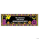 Personalized Iconic Halloween Banner - Medium